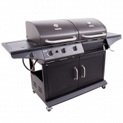 DELUXE GAS & CHARCOAL COMBO GRILL-29466