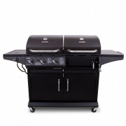 DELUXE GAS & CHARCOAL COMBO GRILL-29467