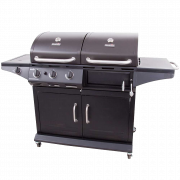 DELUXE GAS & CHARCOAL COMBO GRILL-29468