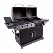 DELUXE GAS & CHARCOAL COMBO GRILL-29469