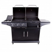 DELUXE GAS & CHARCOAL COMBO GRILL-29470