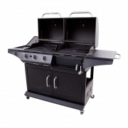 DELUXE GAS & CHARCOAL COMBO GRILL-29471