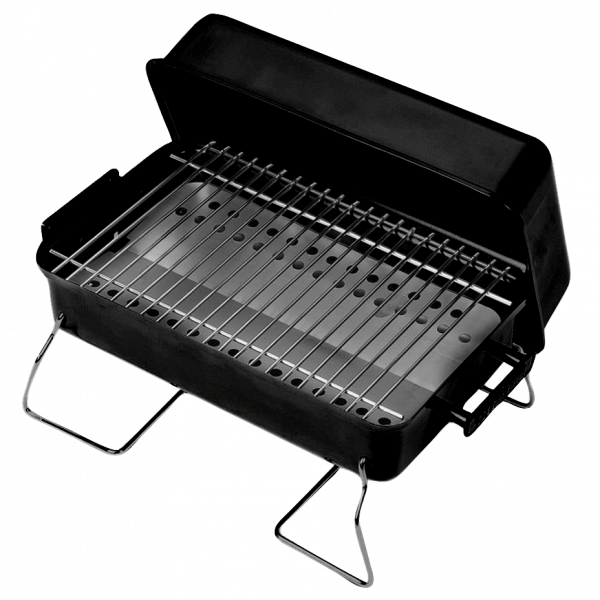 PORTABLE CHARCOAL GRILL-0