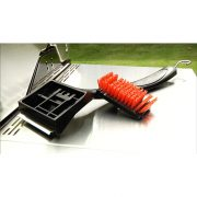 grill cleaning brush with detachable head