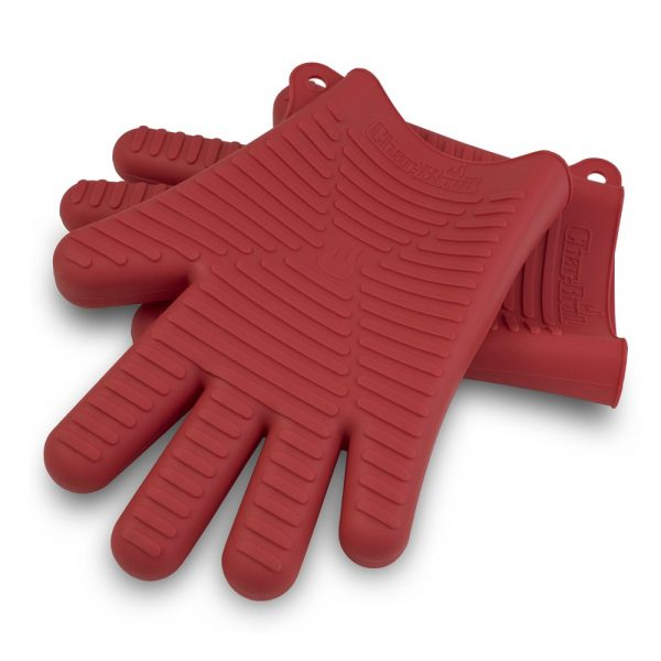 COMFORT-MOLDED SILICONE GRILLING GLOVES-0