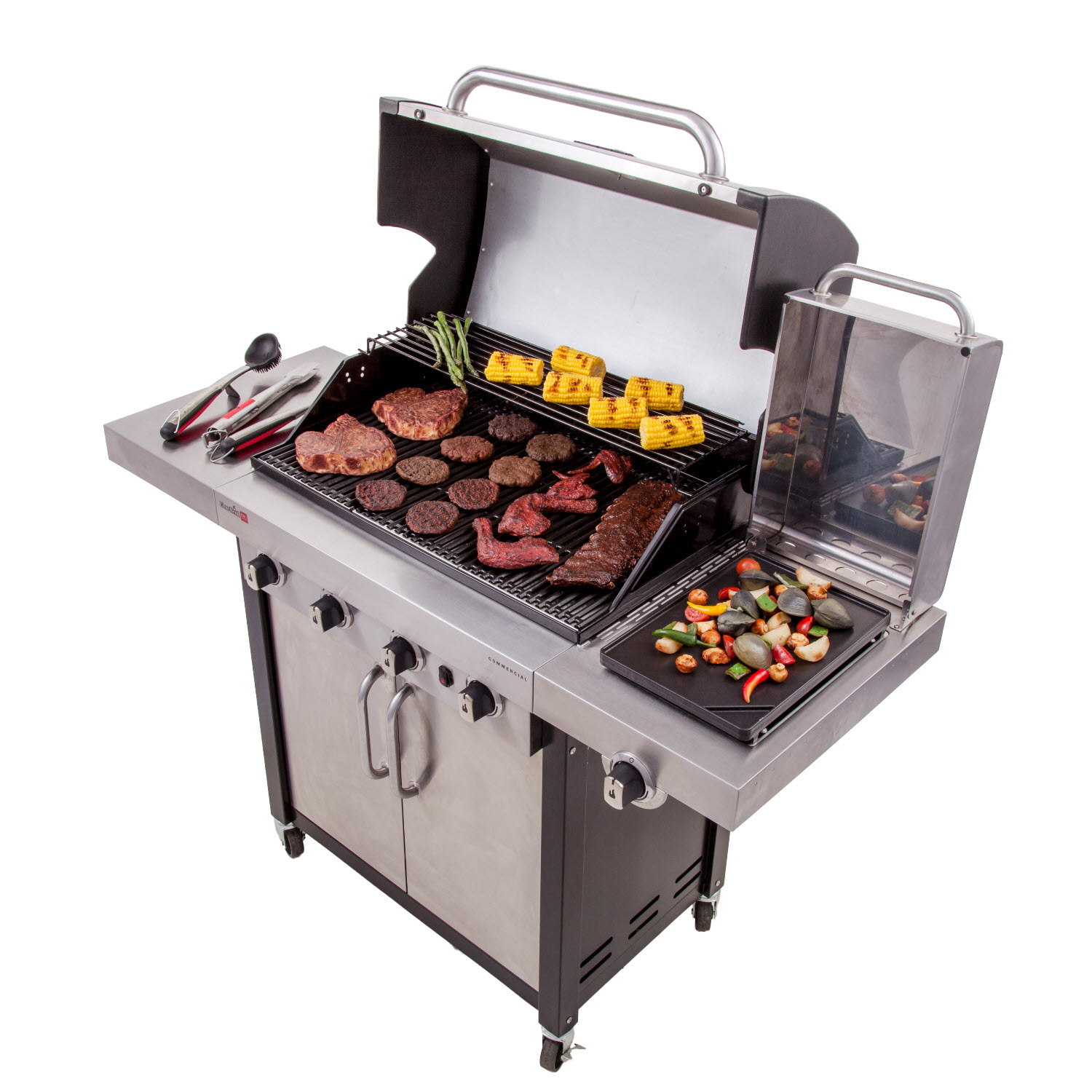 Commercial 4 Burner Gas Grill